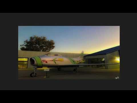 November 30, 2017 Santa Monica Museum of Flying Sunset...