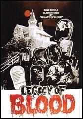 Poster do filme Blood Legacy