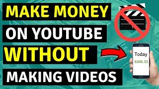 How To Make Money On Youtube Without Making Videos 🔥🔥🔥