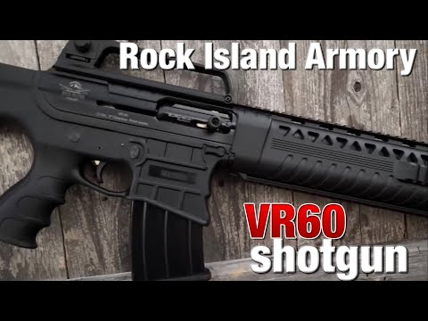 Rock Island Armory brings us an ARstyle, box fed shotgun with attitude!