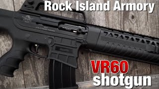 Rock Island Armory brings us an AR-style, box fed shotgun with attitude!