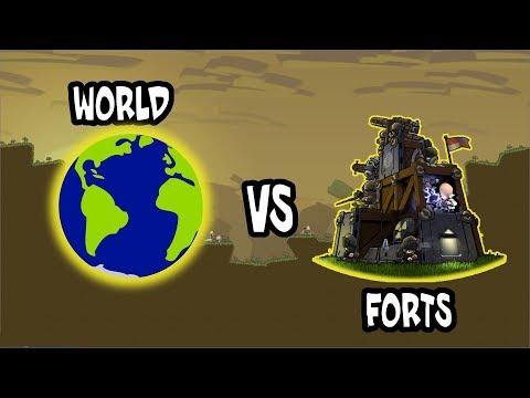 FORTS Tournament XIV - Live Uncut (2v2 Ranked) - Forts RTS - Livestream