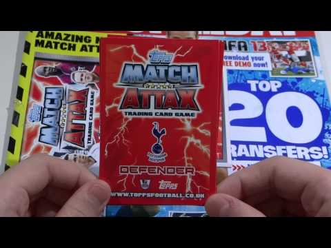 Topps Match Attax 12 13 First Packet +  Free Special Trophy Card! + Error Card!!! Epic!