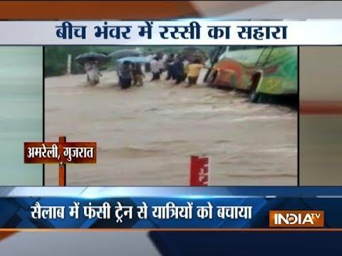 Heavy rains wreak havoc all across India; Gujarat, Uttarakhand, Maharashtra worst affected