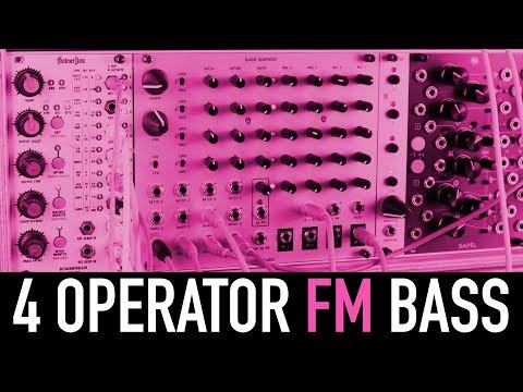 4 Operator FM Bass with the Humble Audio Quad Operator