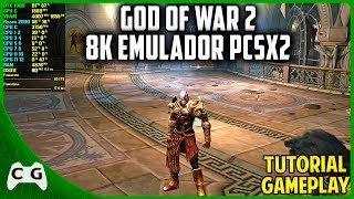 God of War 2 Com os Gráficos Ultra Realistas No Emulador PCSX2 Tutorial Como configurar