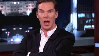 Repeat youtube video Benedict Cumberbatch Funniest Moments