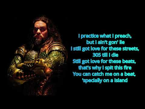 Ocean To Ocean (Lyrics) - Pitbull Ft. RHEA (Aquaman Soundtrack)