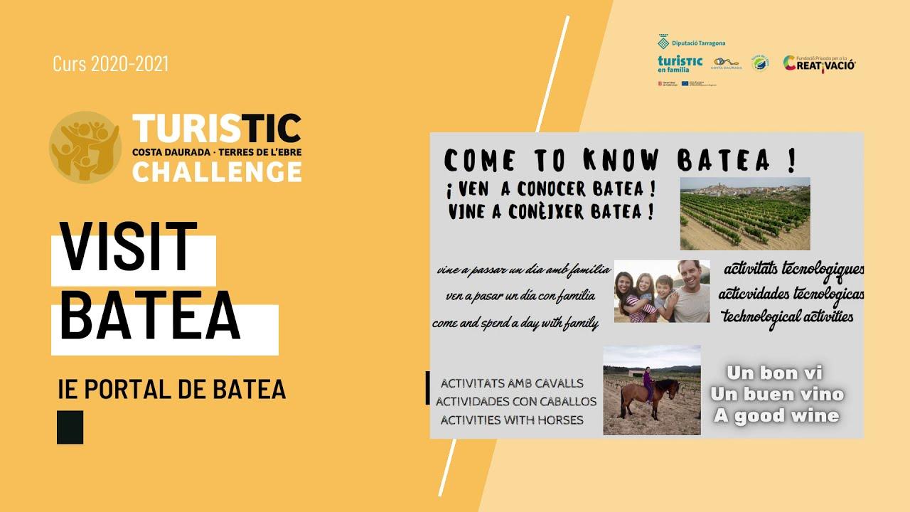 """""""Visit Batea"""" - IE Portal de Batea"""