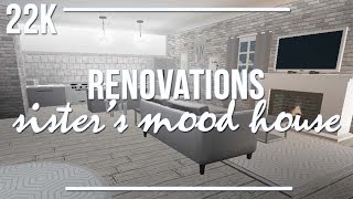 ROBLOX Bloxburg | Renovations: Sister's Mood House 22k