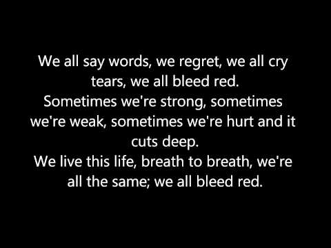 Bleed Red - Ronnie Dunn (w/ lyrics)