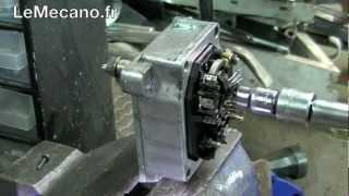 Dépose de bague mobile du transmetteur de course de tiroir de régulation de débit