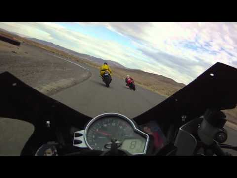 Reno Fernley Raceway Sportbike Trackday 10/16/11 Session1