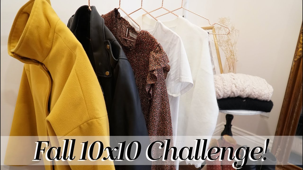 10x10 Challenge Fall 2018! Clothing picks & Outfit Ideas | Kait Bos 1