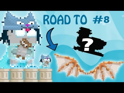 GrowTopia - ROAD TO DA VINCI WING! | Episode #8 - NEW PROJECT!