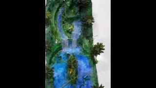 Rainforest Diorama | Amazon River by Syed Atif Faheem
