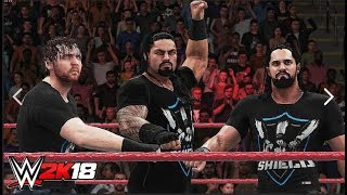 BECOMING THE SHIELD IN ROBLOX WWE 2K18