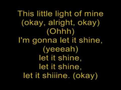 Let It Shine-Let It Shine (Lyrics)