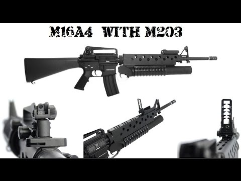 UNBOXING new Wartech Predator M16A4 + M203 - YouTube M16a4 M203