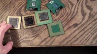 Old Intel & AMD Processors
