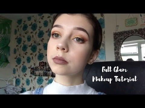 Full Glam Makeup Tutorial | Biddle