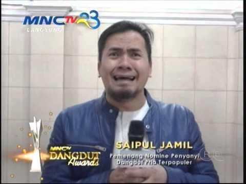 MNCTV Dangdut Awards - Saipul Jamil Penyanyi Pria Terpopuler