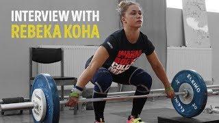Rebeka Koha Interview / Before World Championships 2018