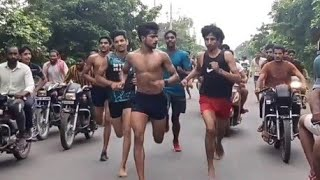 Indian army 🇮🇳,,Tigaon race 1600 mtr running 🏃🏃 1st Sudhir  time 4.28