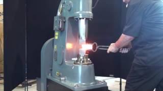 Anyang 55 lb. HS power hammer forging 2
