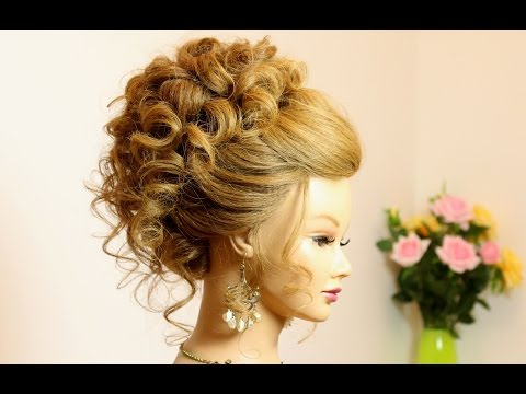 Curly Hairstyle for Long Medium Hair