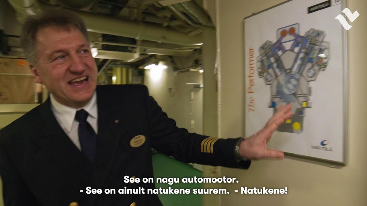 Sassi seiklused ajutiselt seisval Baltic Queenil – masinaruum, II osa