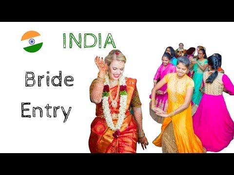 BEST SPANISH/TAMIL BRIDE ENTRY DANCE
