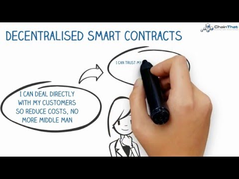 Simple Introduction To Smart Contracts On A Blockchain