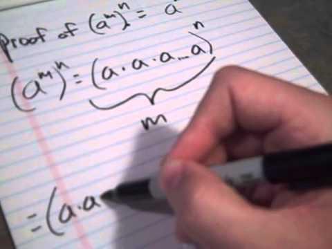 Proofa^m^n=a^mn
