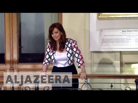 Former Argentine president Cristina Kirchner faces court