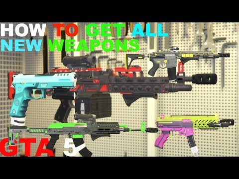 GTA 5 GUNRUNNING DLC HOW TO GET ALL NEW WEAPONS