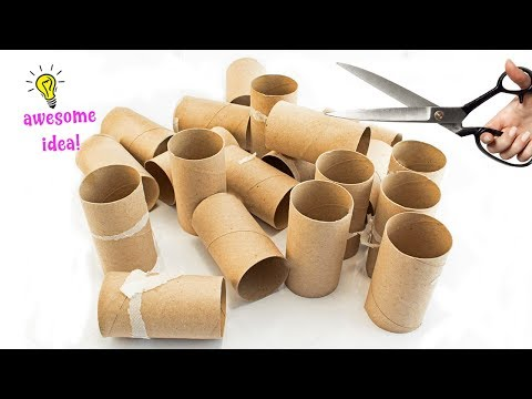 7 Brilliant Uses for Empty Tissue/Cardboard Tubes That Are Straight Up Genius! Best Reuse Idea