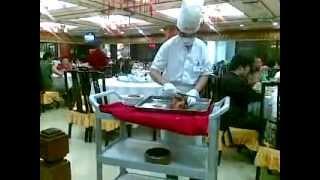 Приготовление утки по-пекински