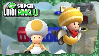 New Super Luigi U Deluxe ᴴᴰ   World 6 (All Star Coins) Solo Toad