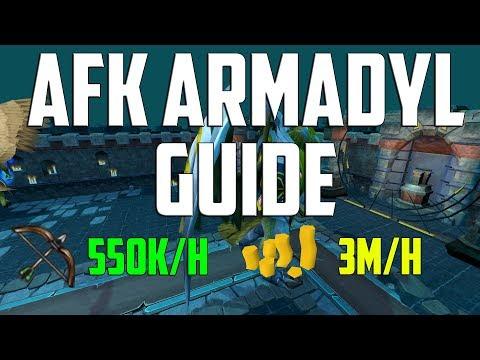 Runescape 3 - AFK Armadyl Guide (Kree'arra)| Fast Ranged XP & Profit 2018