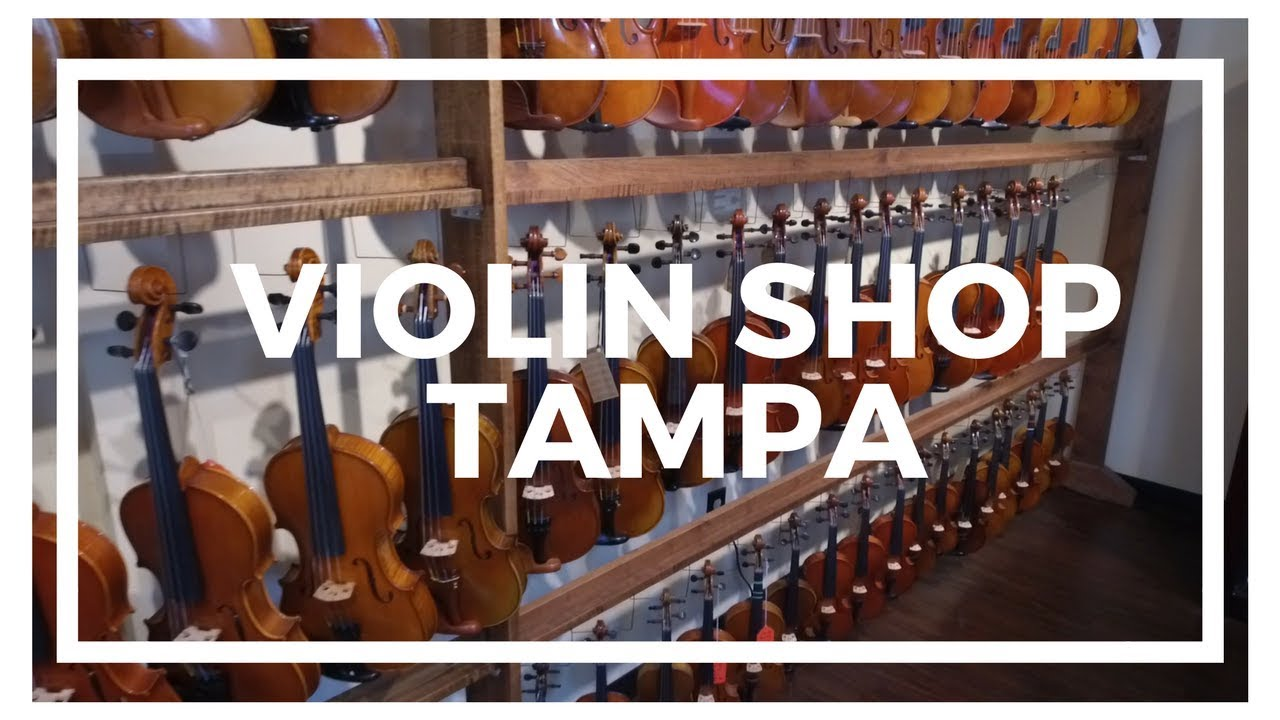 Tales of Tampa - Violin Shop Tampa