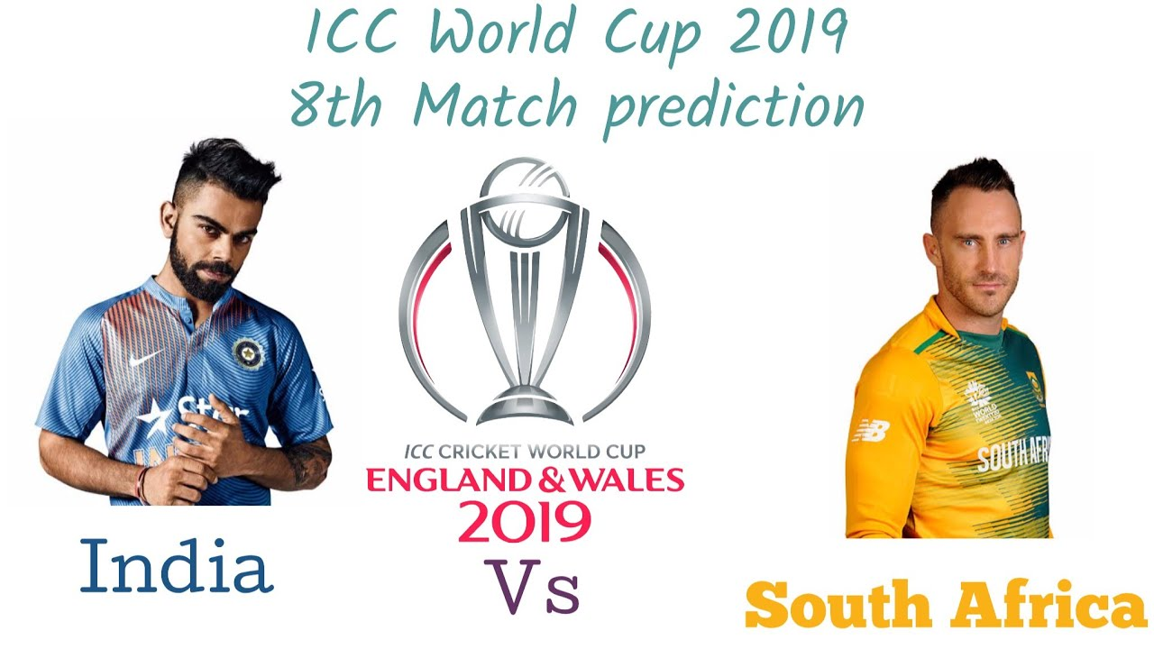 SOUTH AFRICA National Team VS INDIA National Team ICC World Cup Live