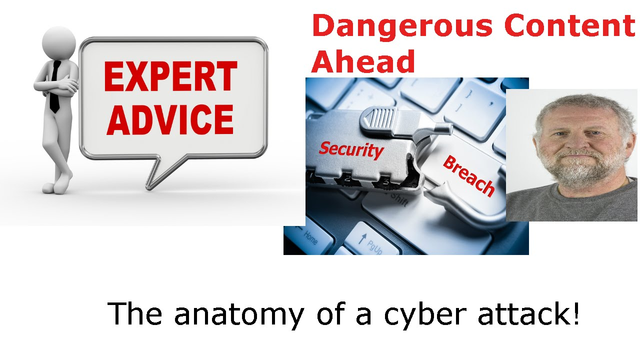 The anatomy of a cyber attack! - YouTube