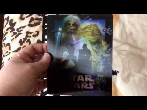 Star Wars Return of the Jedi Custom Lenticular Magnet Cover for Steelbook (cudzndrips)