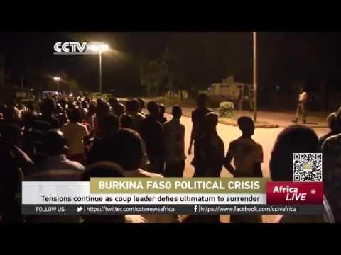 Burkina Faso' coup leader defies ultimatum to surrender