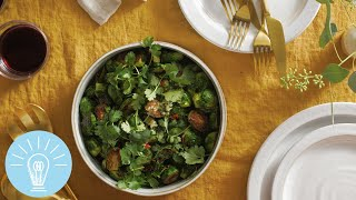 Momofuku's Roasted Brussels Sprouts | Genius Recipes