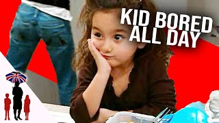 Kids Bored As Mother Cleans House All Day | Supernanny