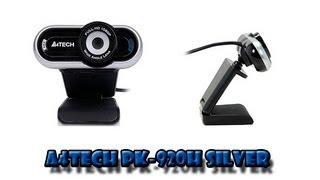 Обзор Web камеры A4Tech PK-920H Silver