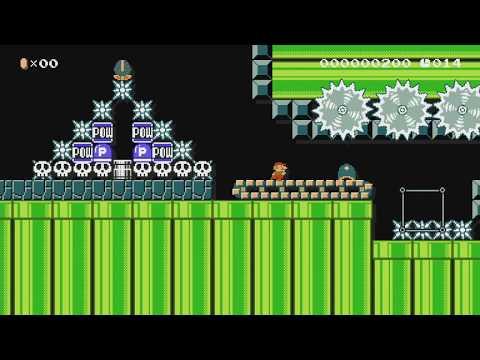 スピード時間ギリギリ20ラン by クッキー★アイランド - Super Mario Maker - No Commentary