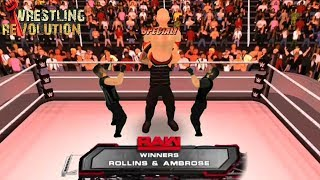 Dean Ambrose Returns & Destroy The Shield - WRESTLING REVOLUTION 3D